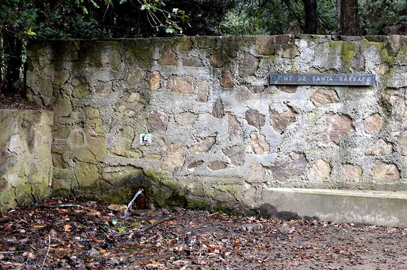 Font de Santa Bàrbara